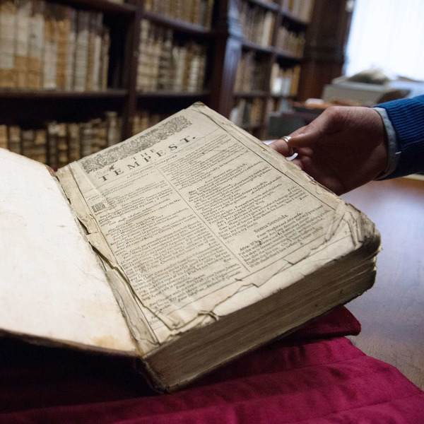 Library Discovers Shakespeare First Folio